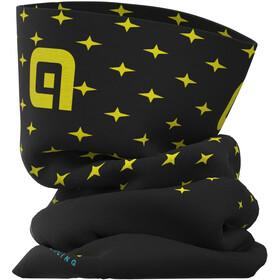 Alé Cycling Stars Tubular Headgear, black/fluo yellow